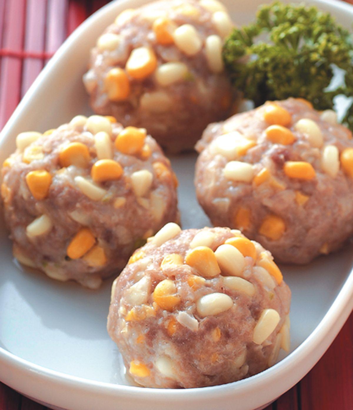 食譜:玉米肉球