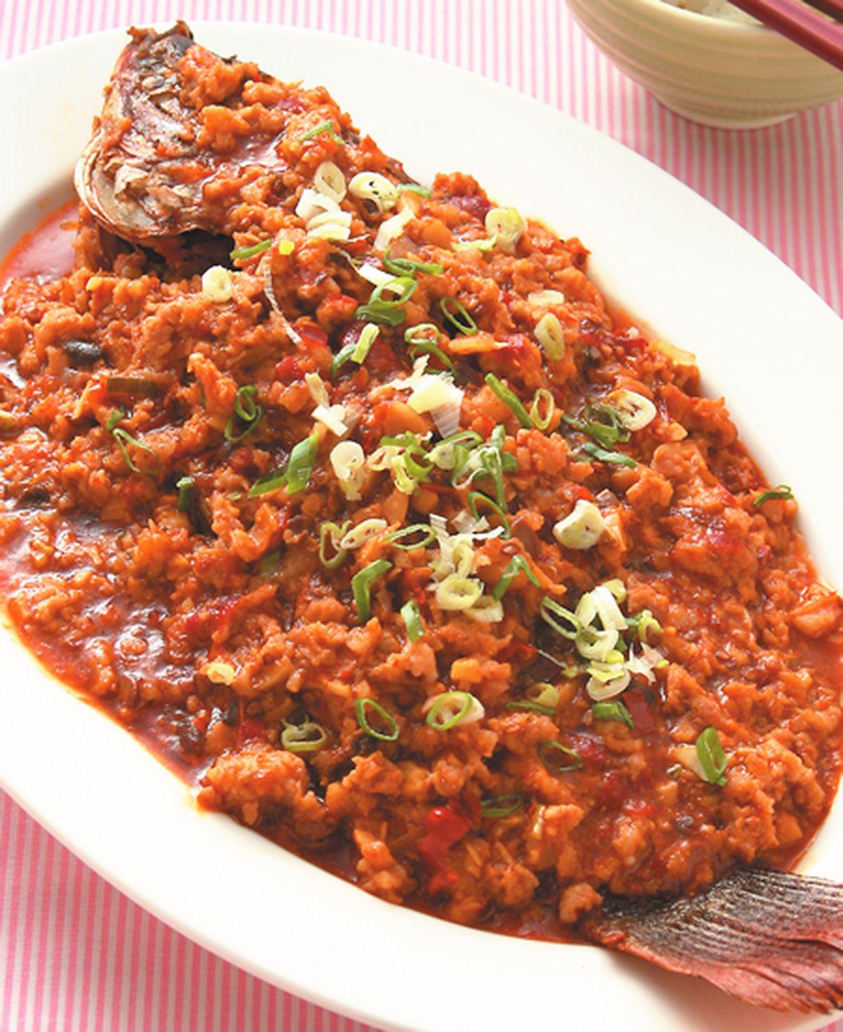 食譜:辣豆瓣魚
