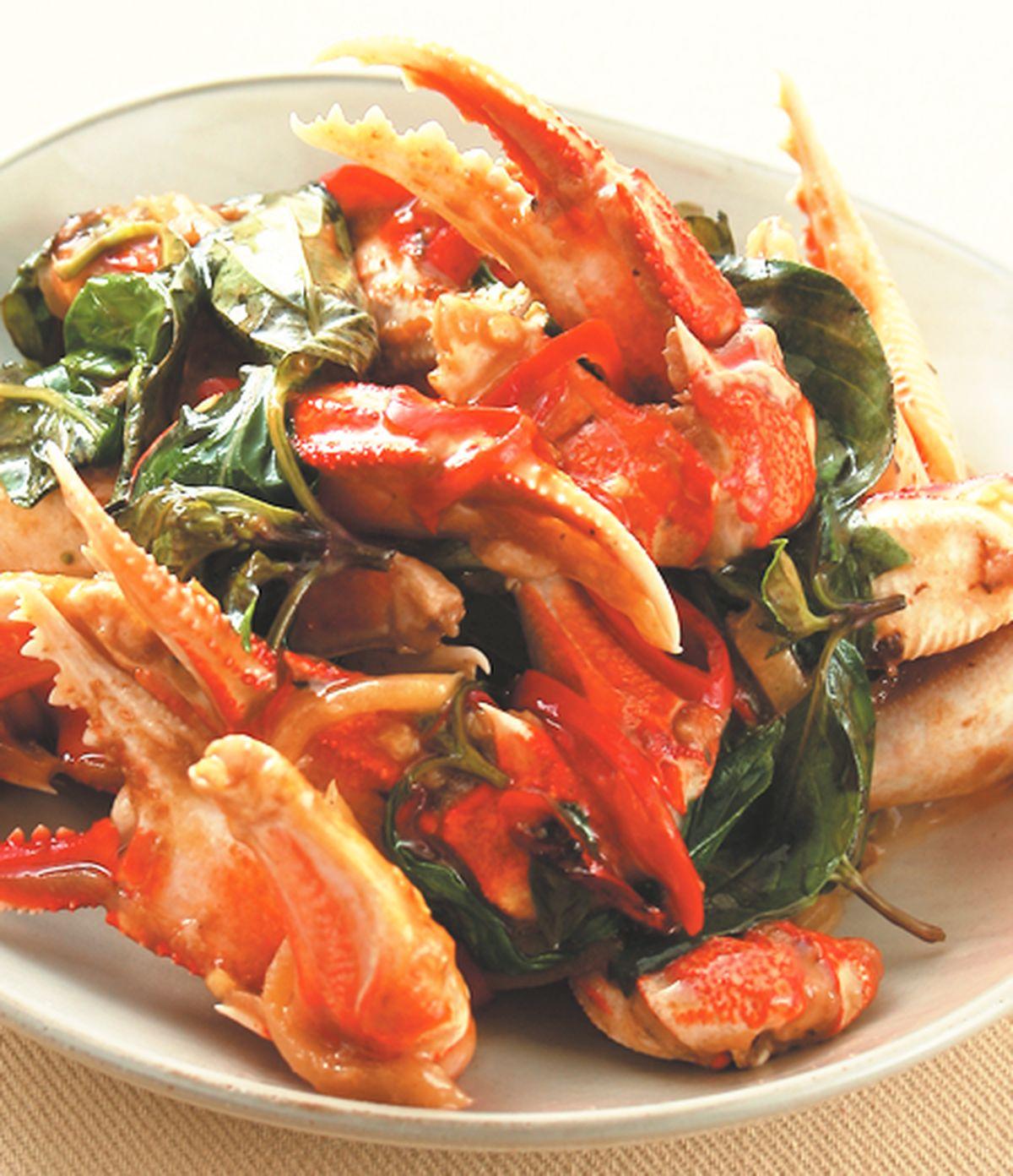 食譜:嗆辣蟹腳(1)
