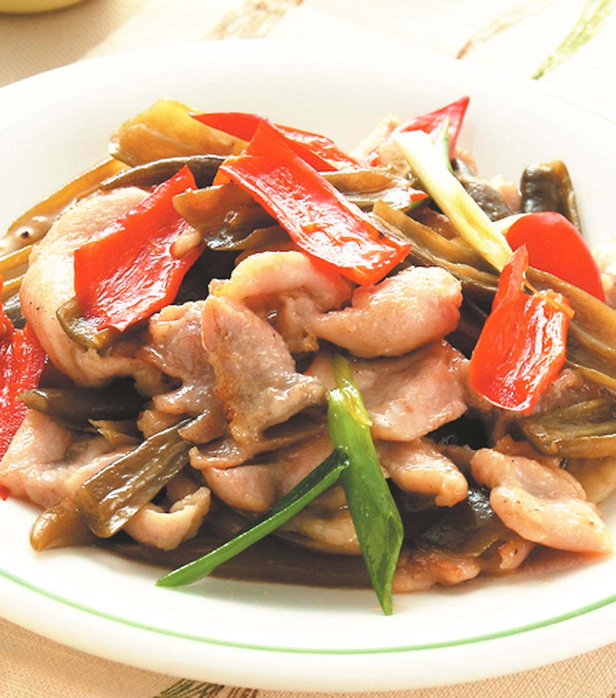 食譜:雙椒雞片