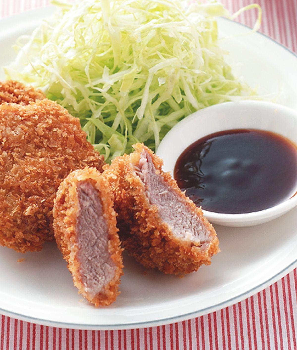 食譜:日式豬排飯