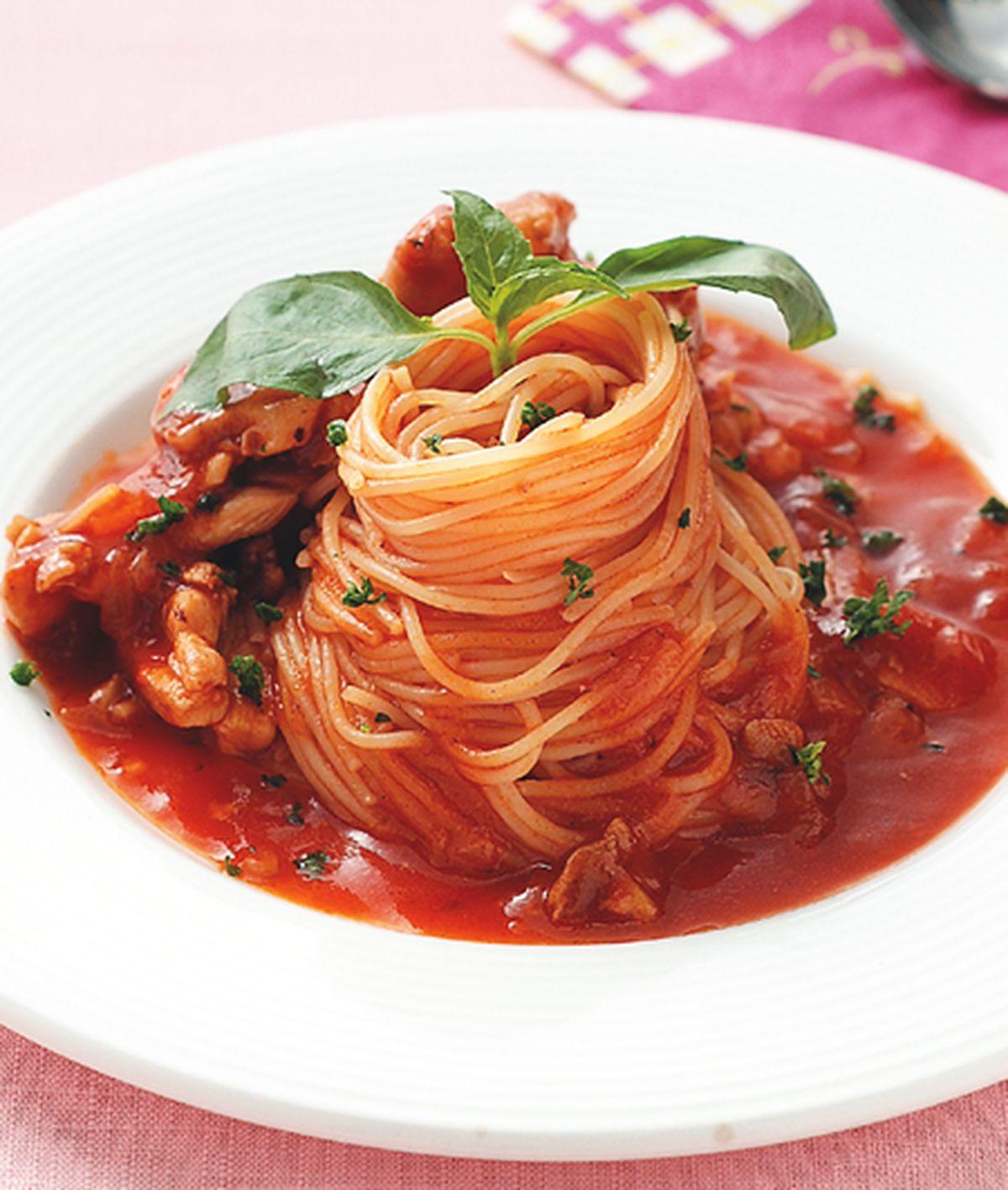食譜:茄汁雞肉義大利麵