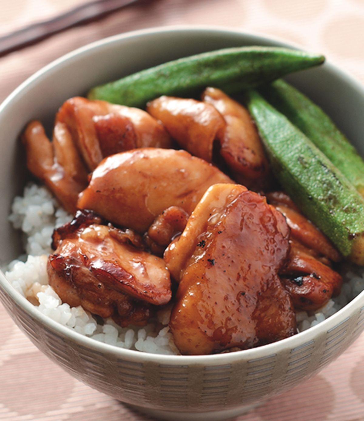 食譜:照燒雞腿丼