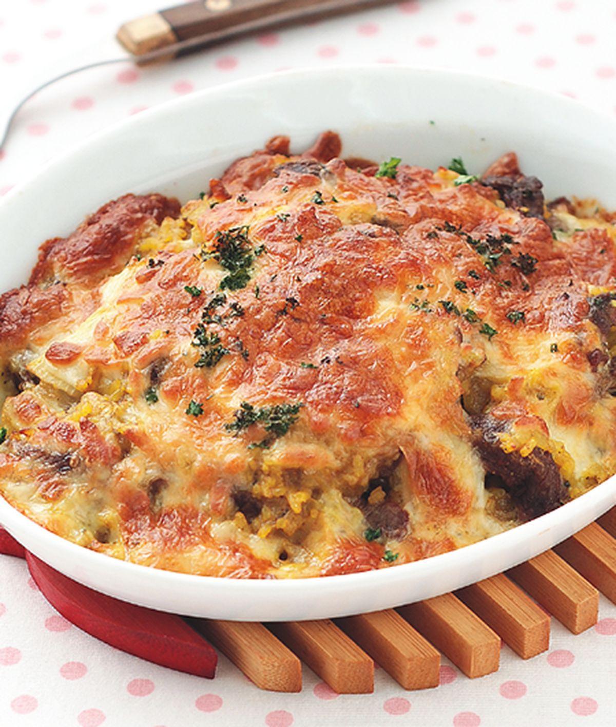 食譜:咖哩牛肉焗烤飯