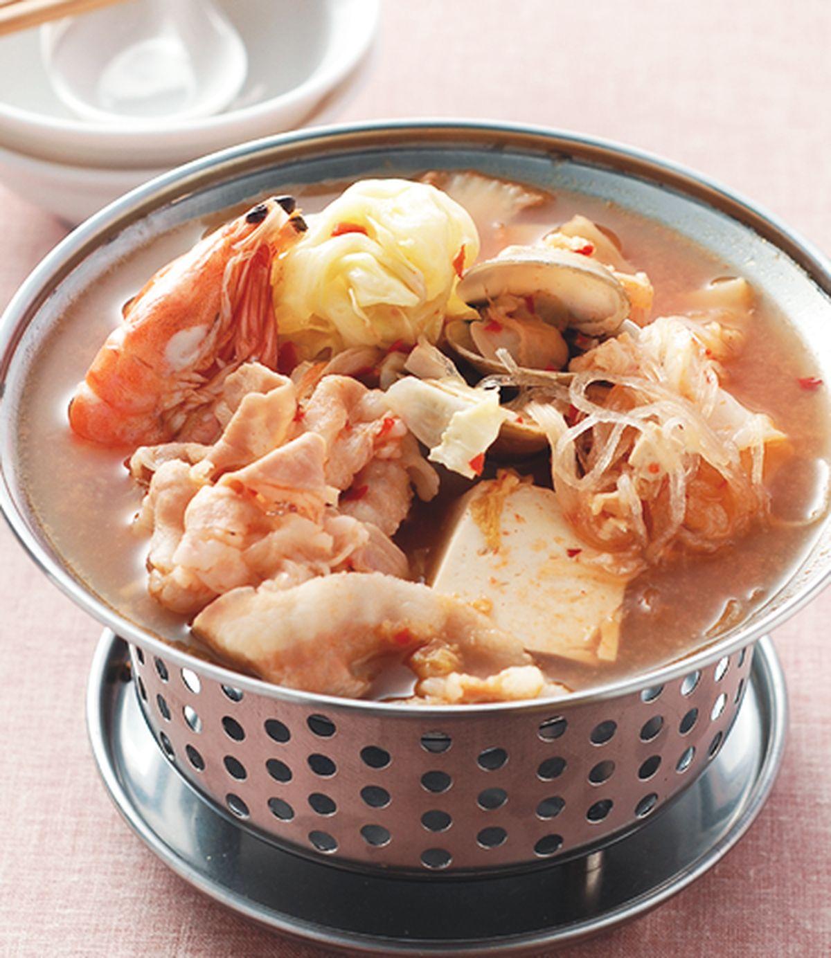 食譜:泡菜海鮮鍋