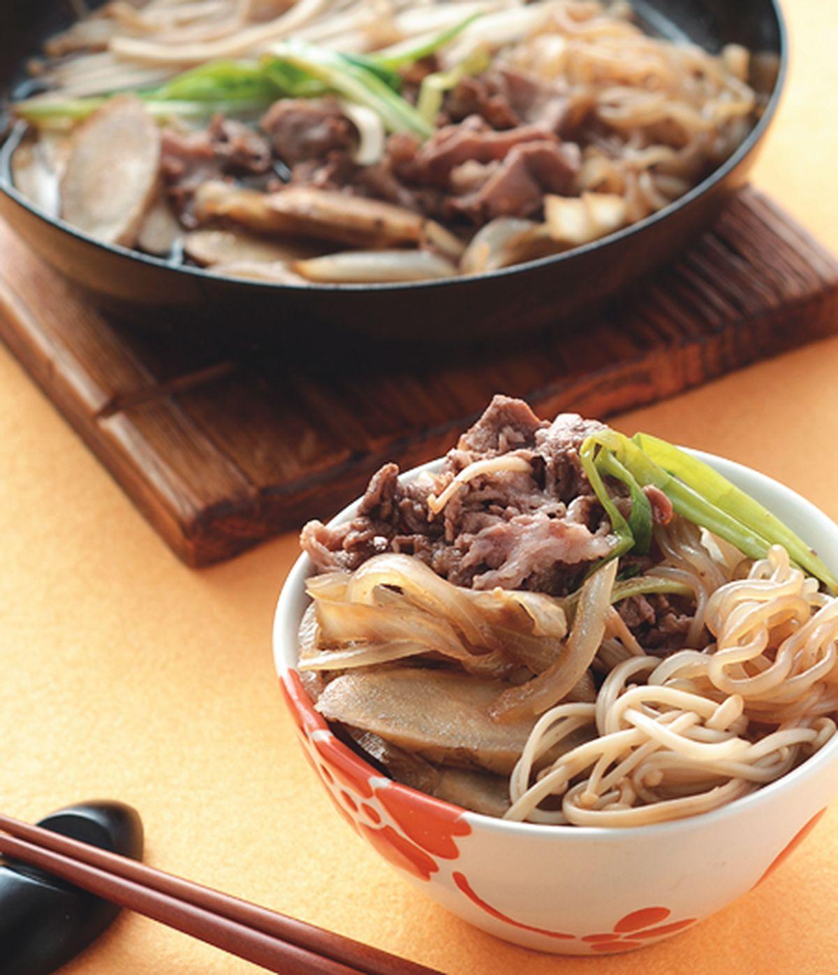 食譜:牛肉壽喜燒(1)