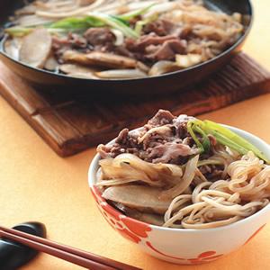 牛肉壽喜燒(1)