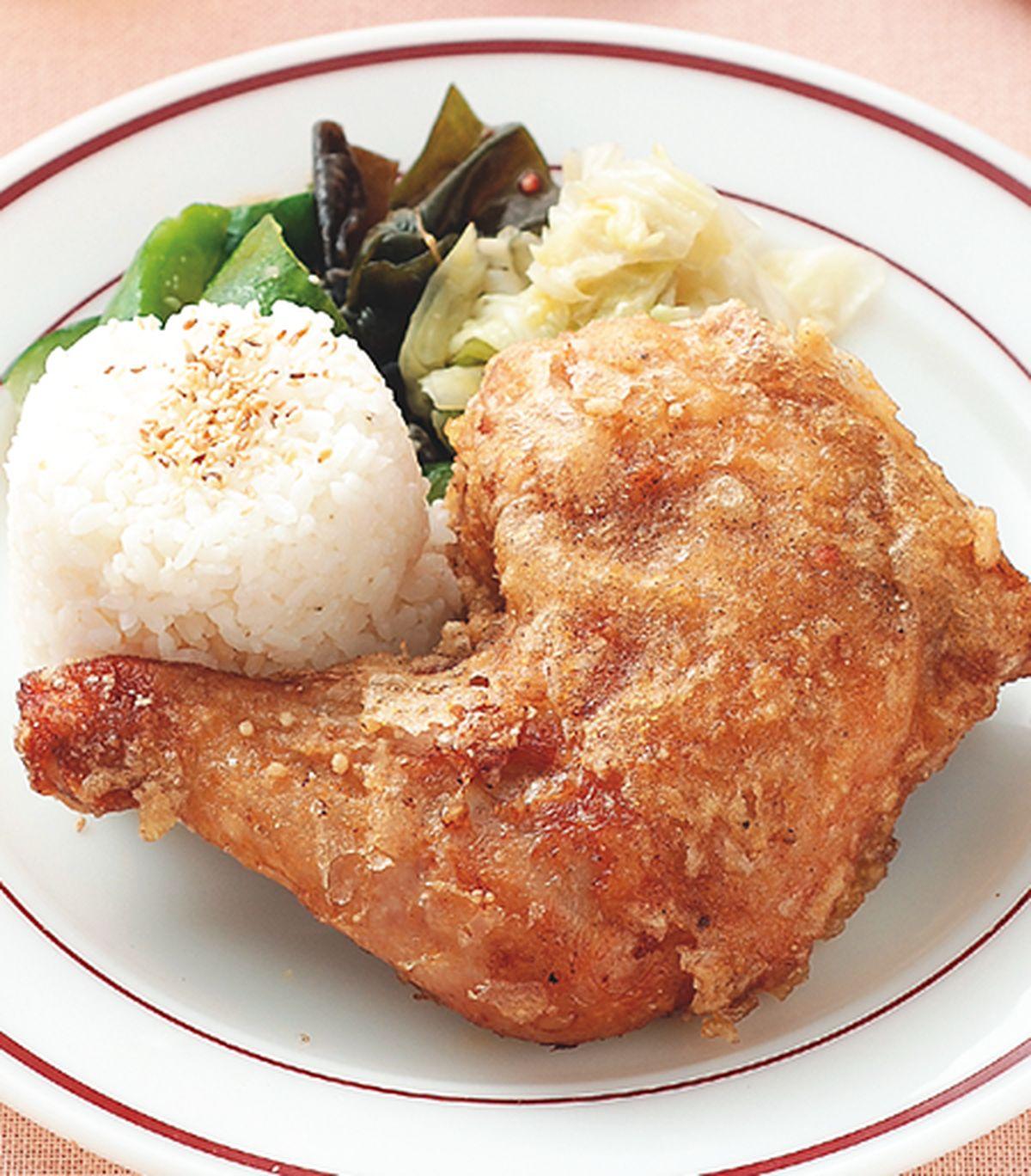 食譜:酥炸雞腿飯