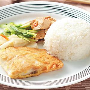 乾煎魚排飯