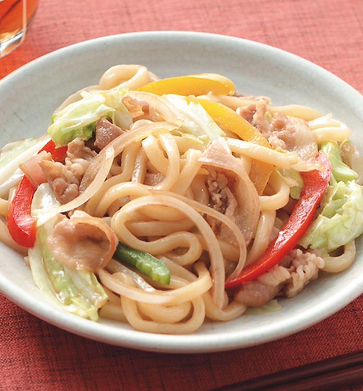 食譜:炒烏龍麵(1)