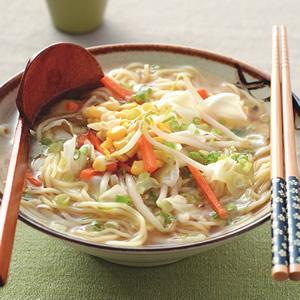 味噌蔬菜拉麵