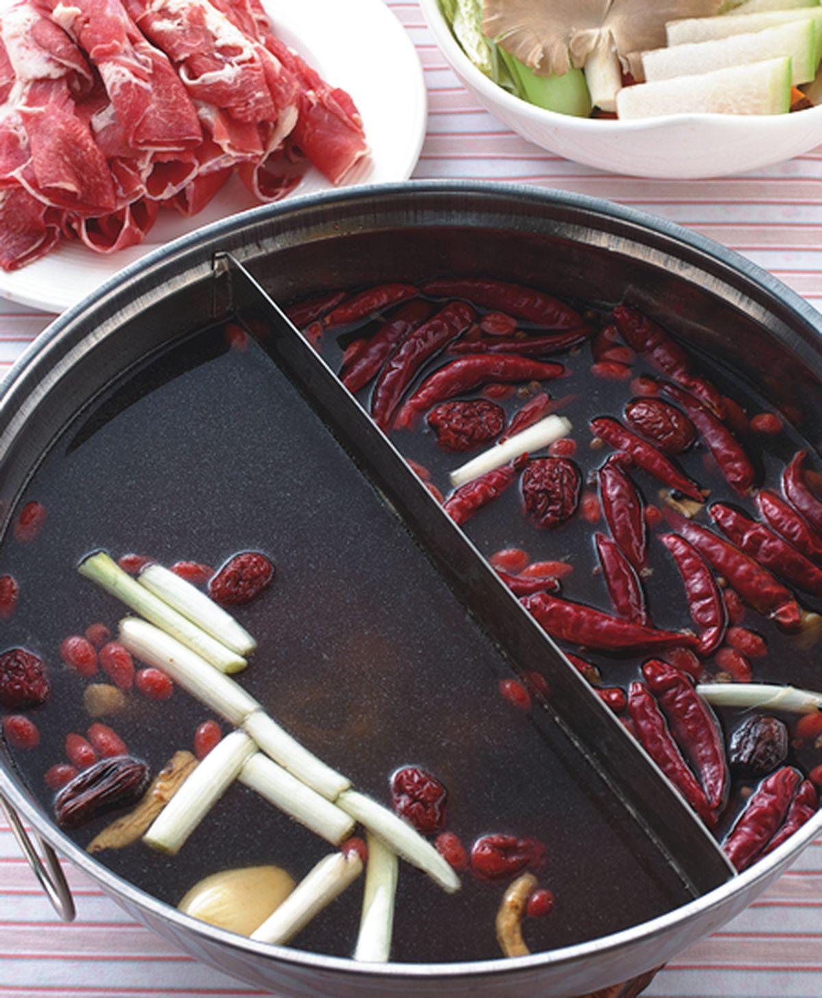 食譜:蒙古養生紅白鍋