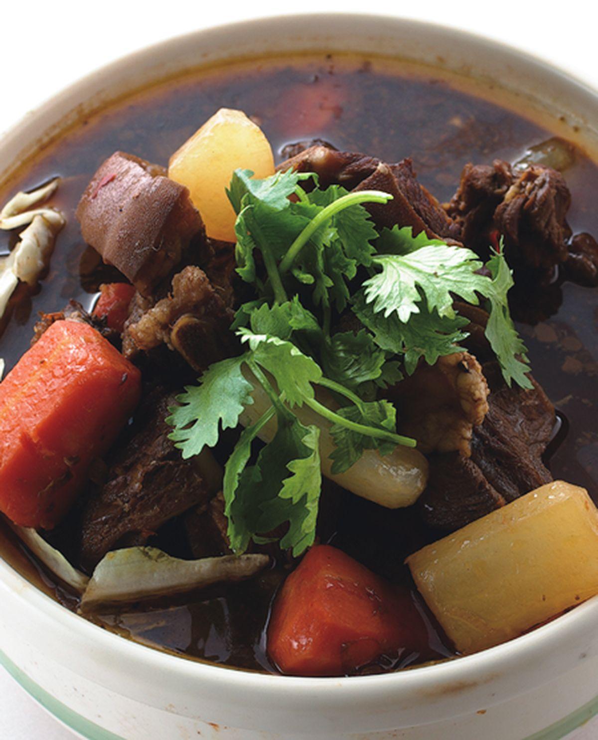食譜:紅燒羊肉爐(1)