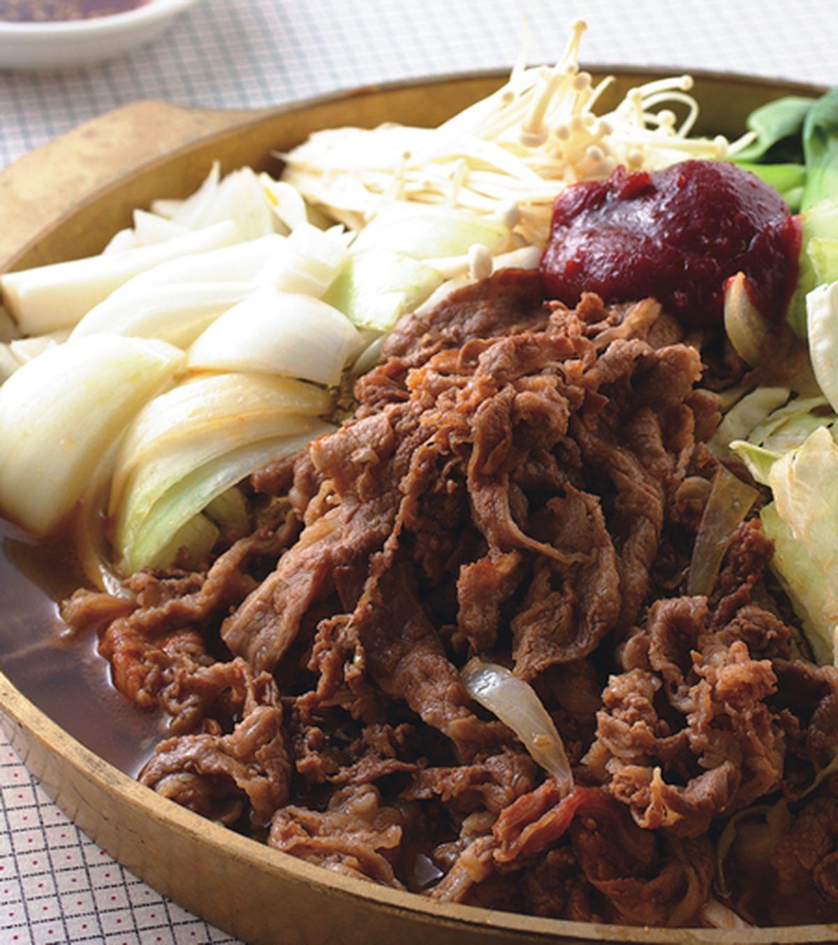 食譜:韓式烤肉鍋