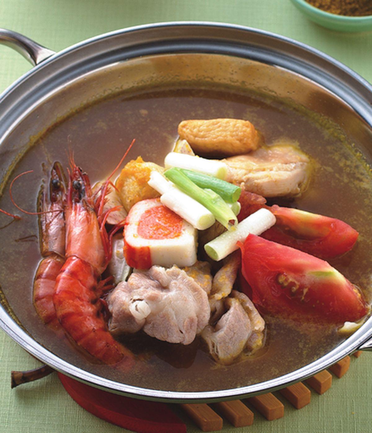 食譜:和風蔬菜咖哩鍋