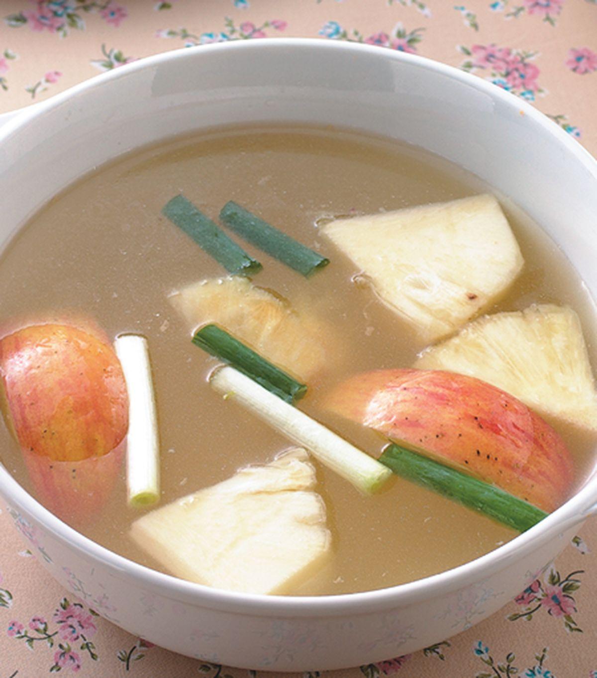 食譜:鳳梨蘋果水果鍋