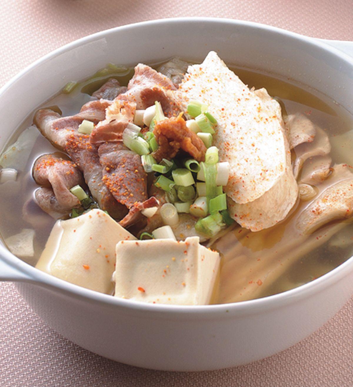 食譜:味噌鍋(1)
