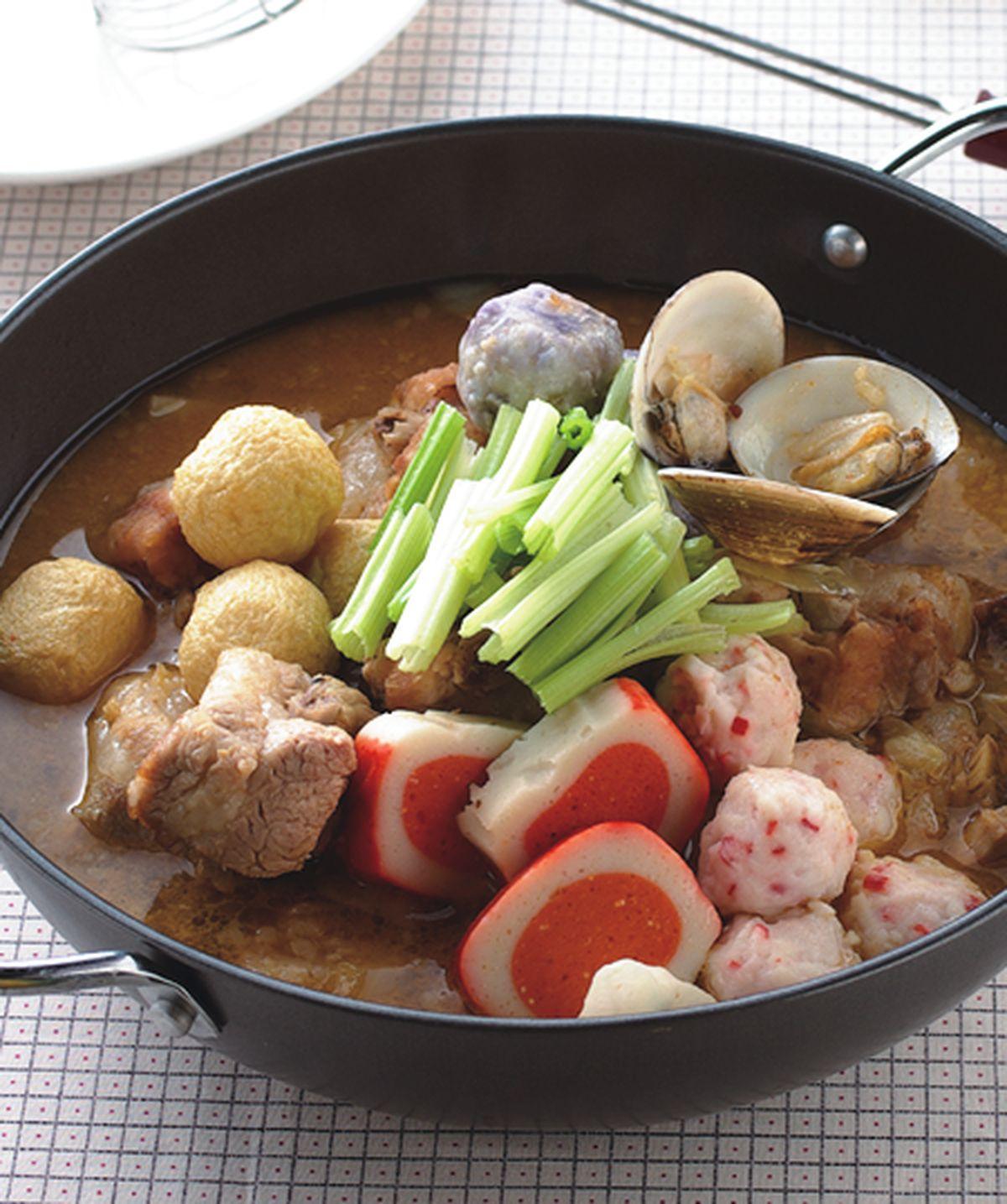 食譜:港式沙嗲火鍋