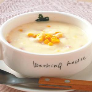 火腿玉米濃湯(1)