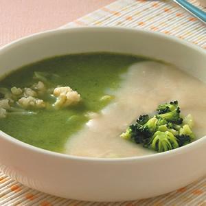 雙色花椰菜濃湯