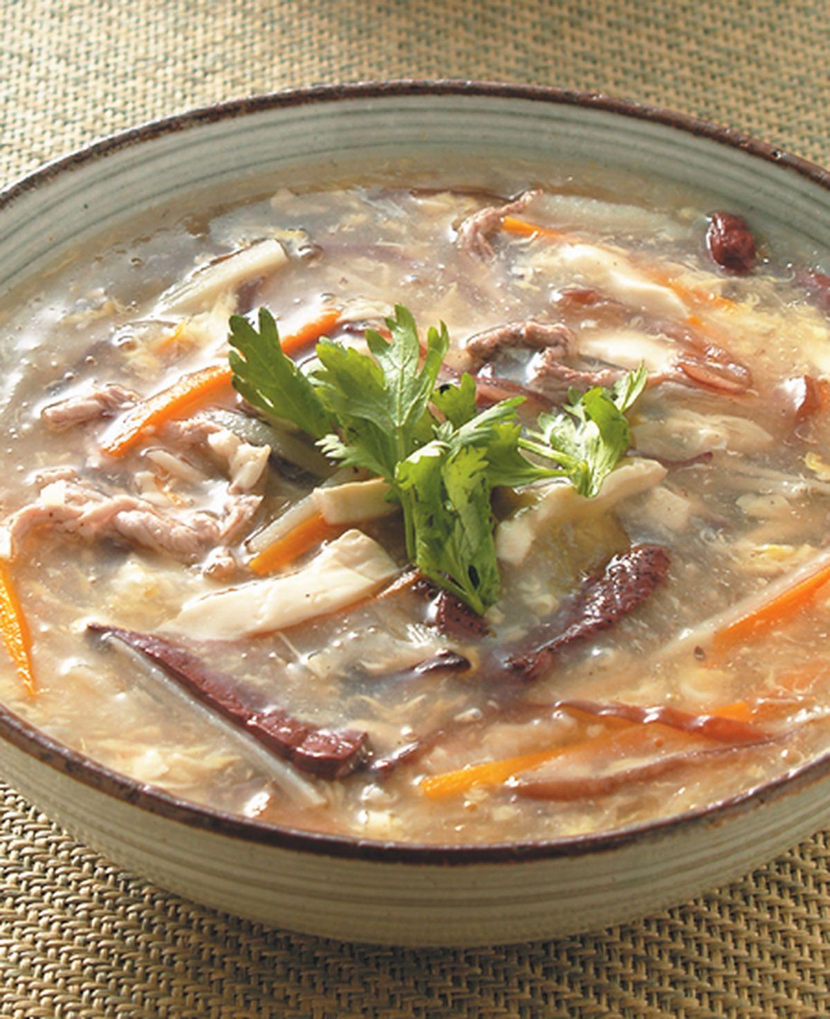 食譜:酸辣湯(4)