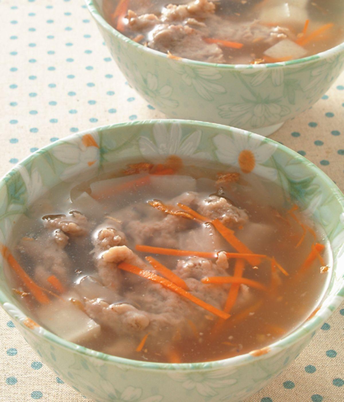 食譜:菜頭肉羹湯