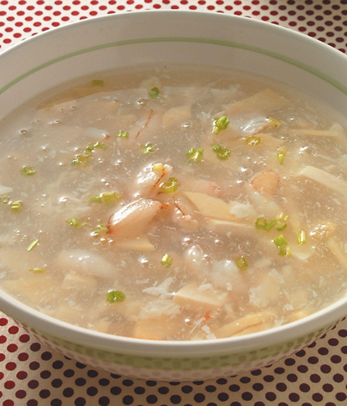 食譜:蟹肉豆腐羹(1)
