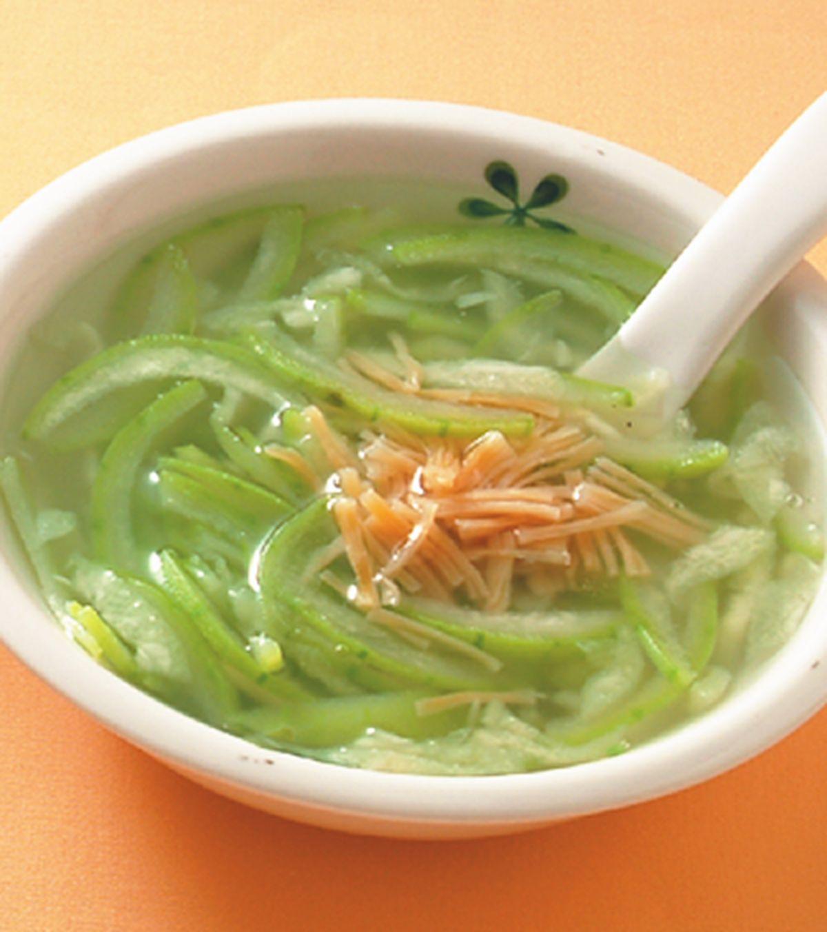 食譜:干貝絲瓜湯