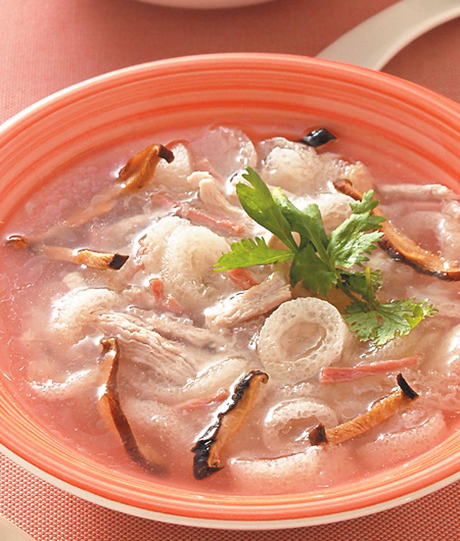 食譜:竹笙雞絲羹