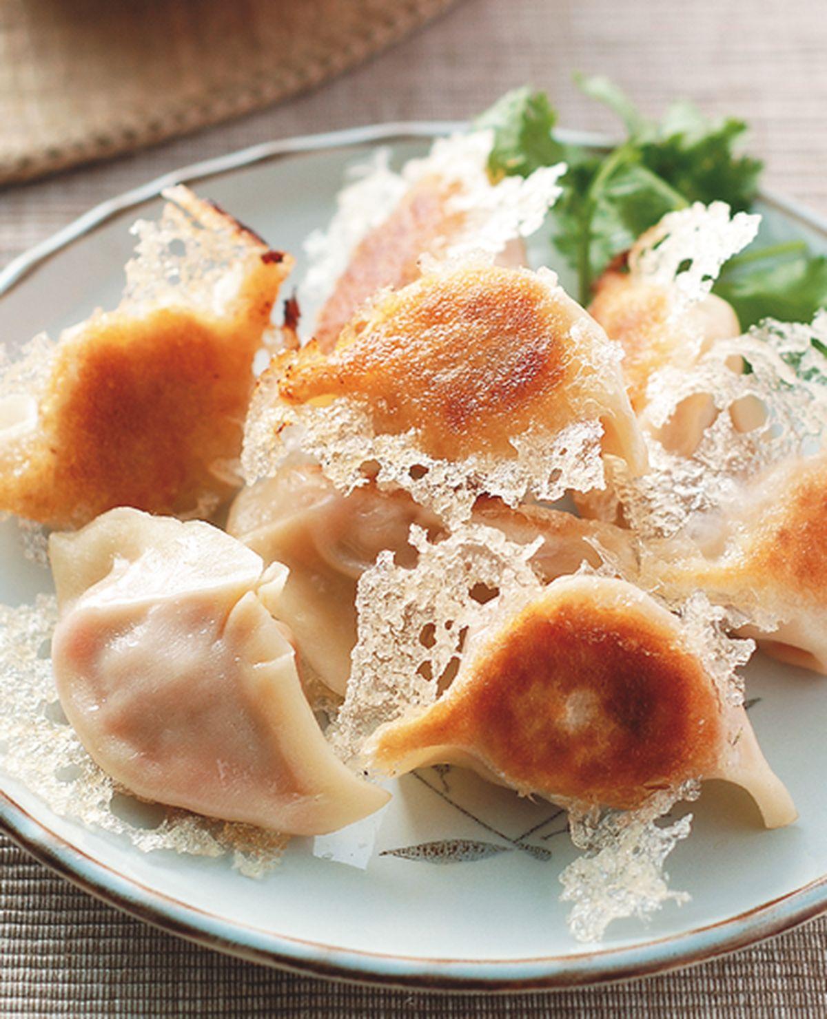 食譜:冰花煎餃