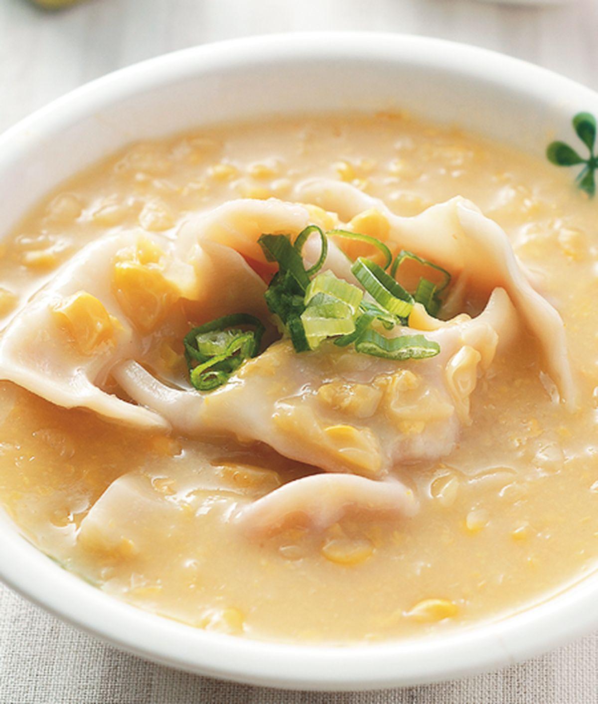 食譜:玉米湯餃