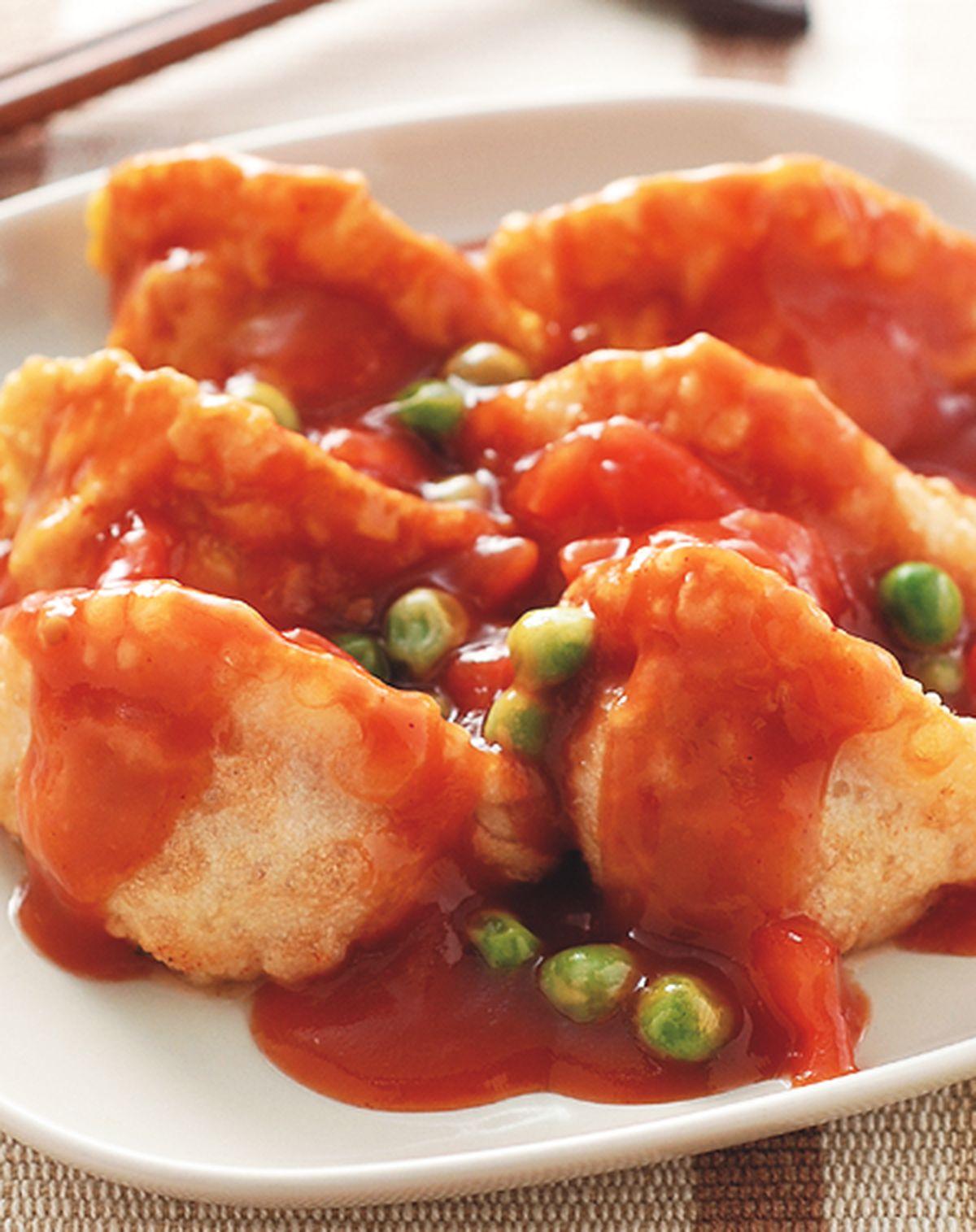 食譜:蕃茄燴餃