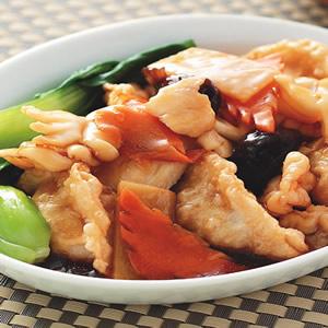 三鮮燴餃子