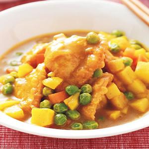 咖哩燴酥餃