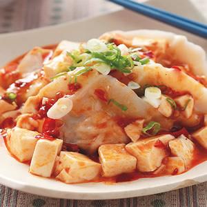 辣醬豆腐餃