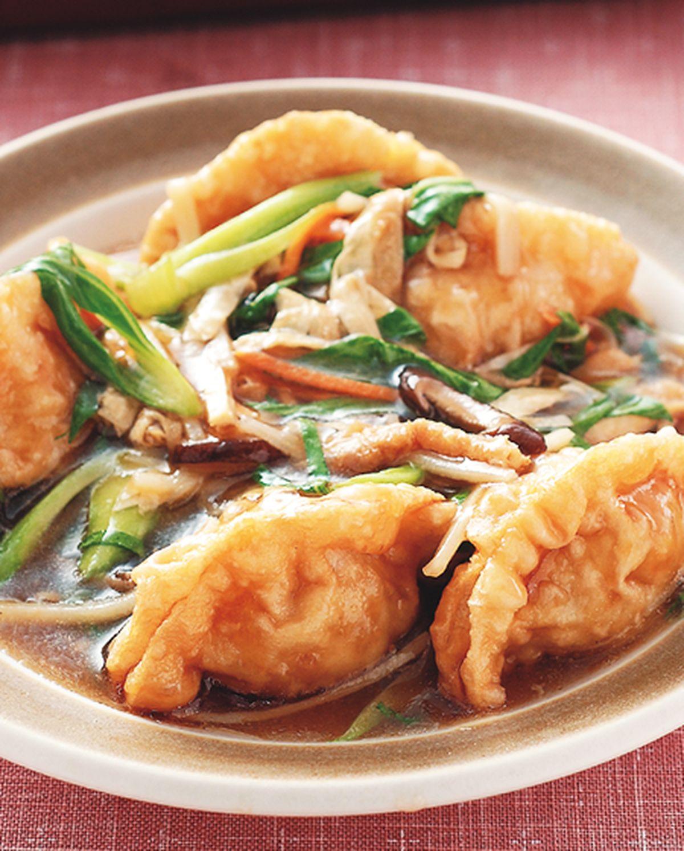 食譜:羅漢燴素餃