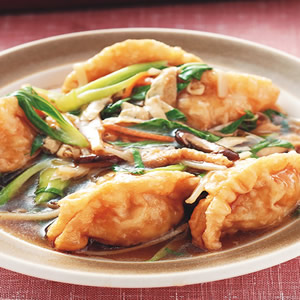 羅漢燴素餃