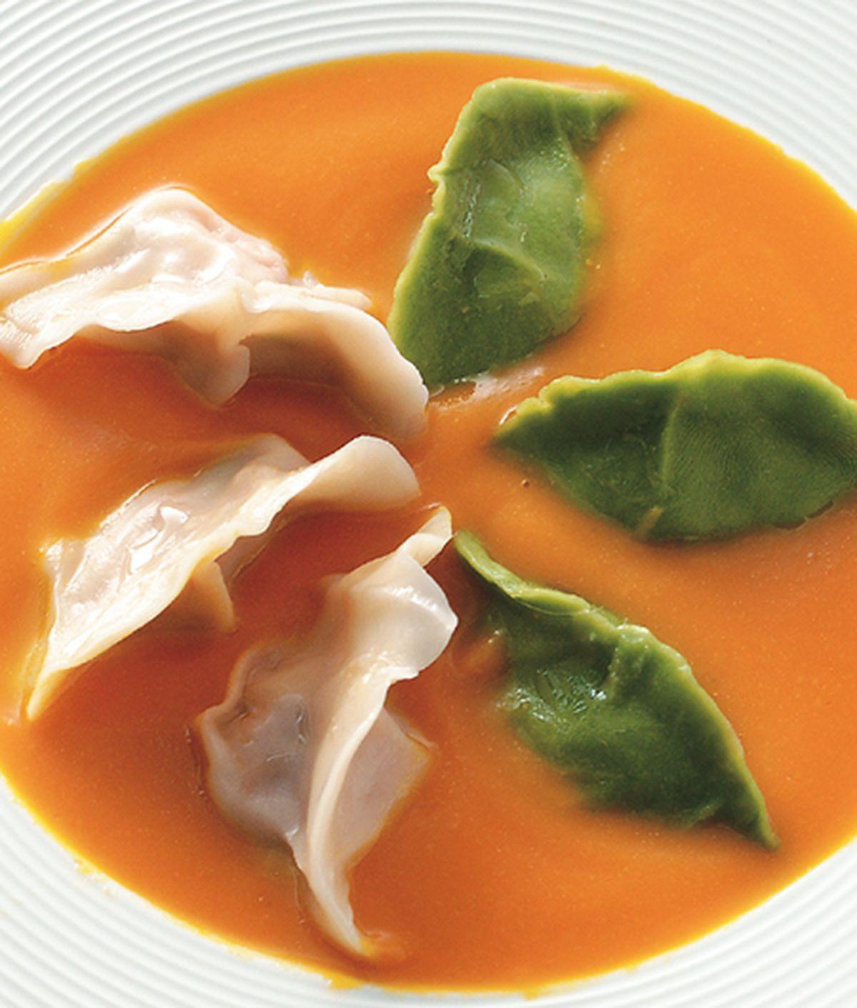 食譜:南瓜湯餃