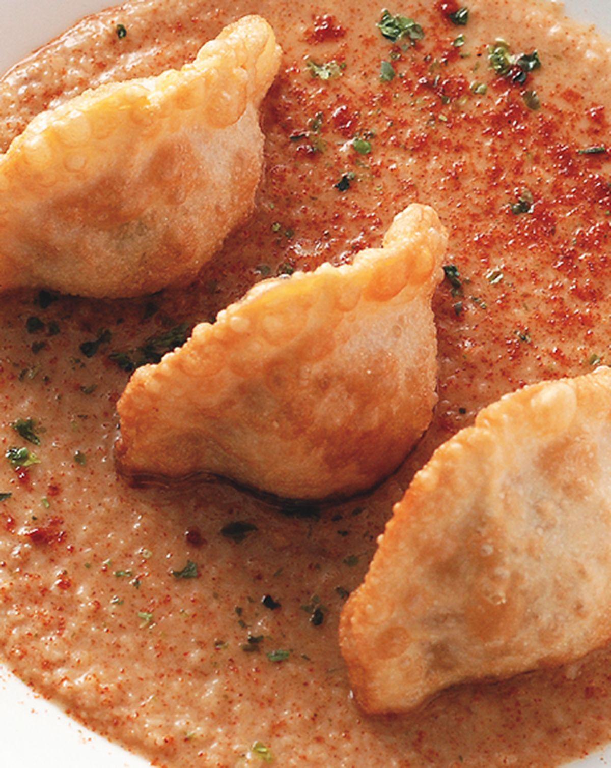食譜:辣椰醬脆皮餃