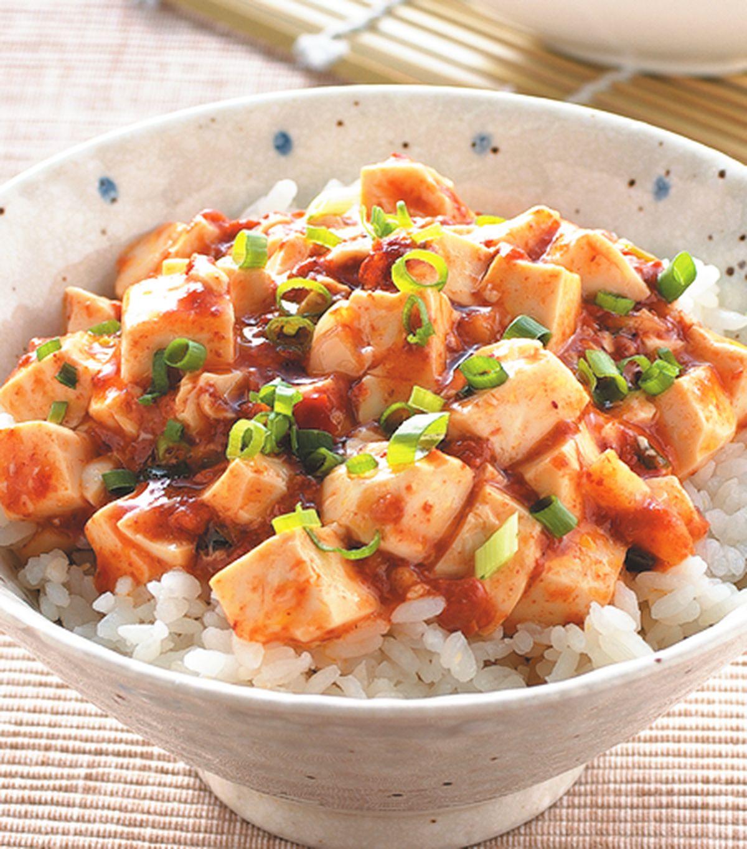 食譜:麻婆豆腐蓋飯