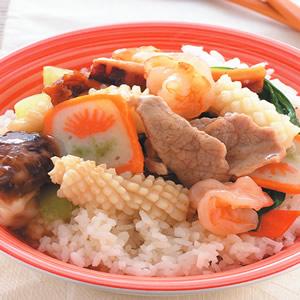 什錦海鮮蓋飯