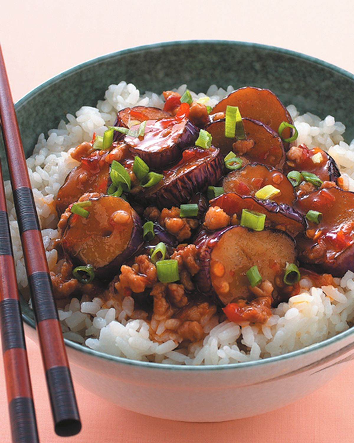 食譜:魚香茄子蓋飯