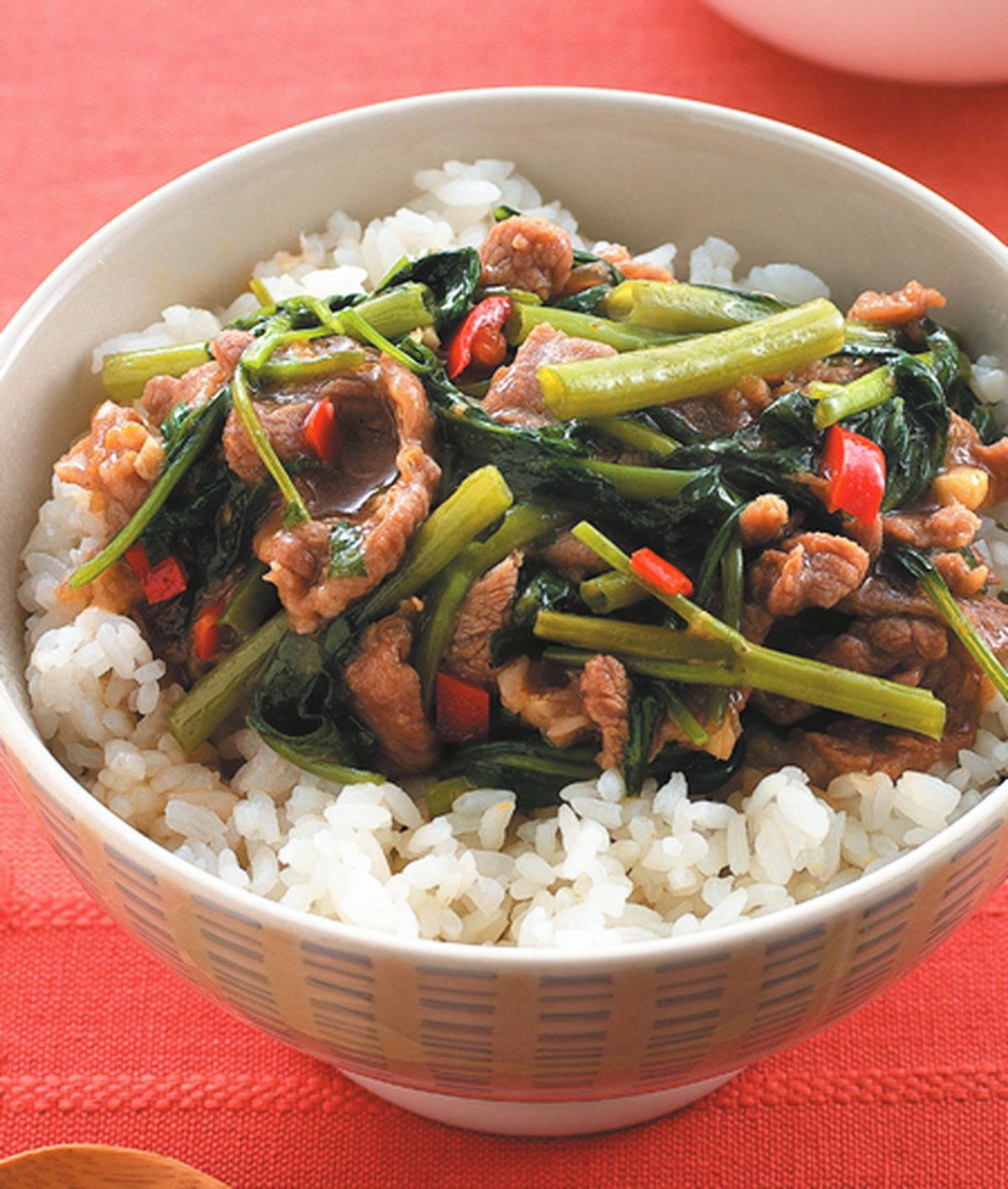 食譜:沙茶羊肉蓋飯