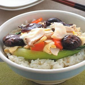 什錦珍菇蓋飯