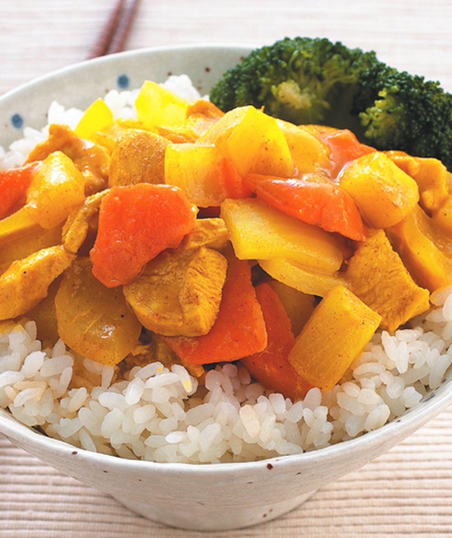 食譜:咖哩雞丁蓋飯