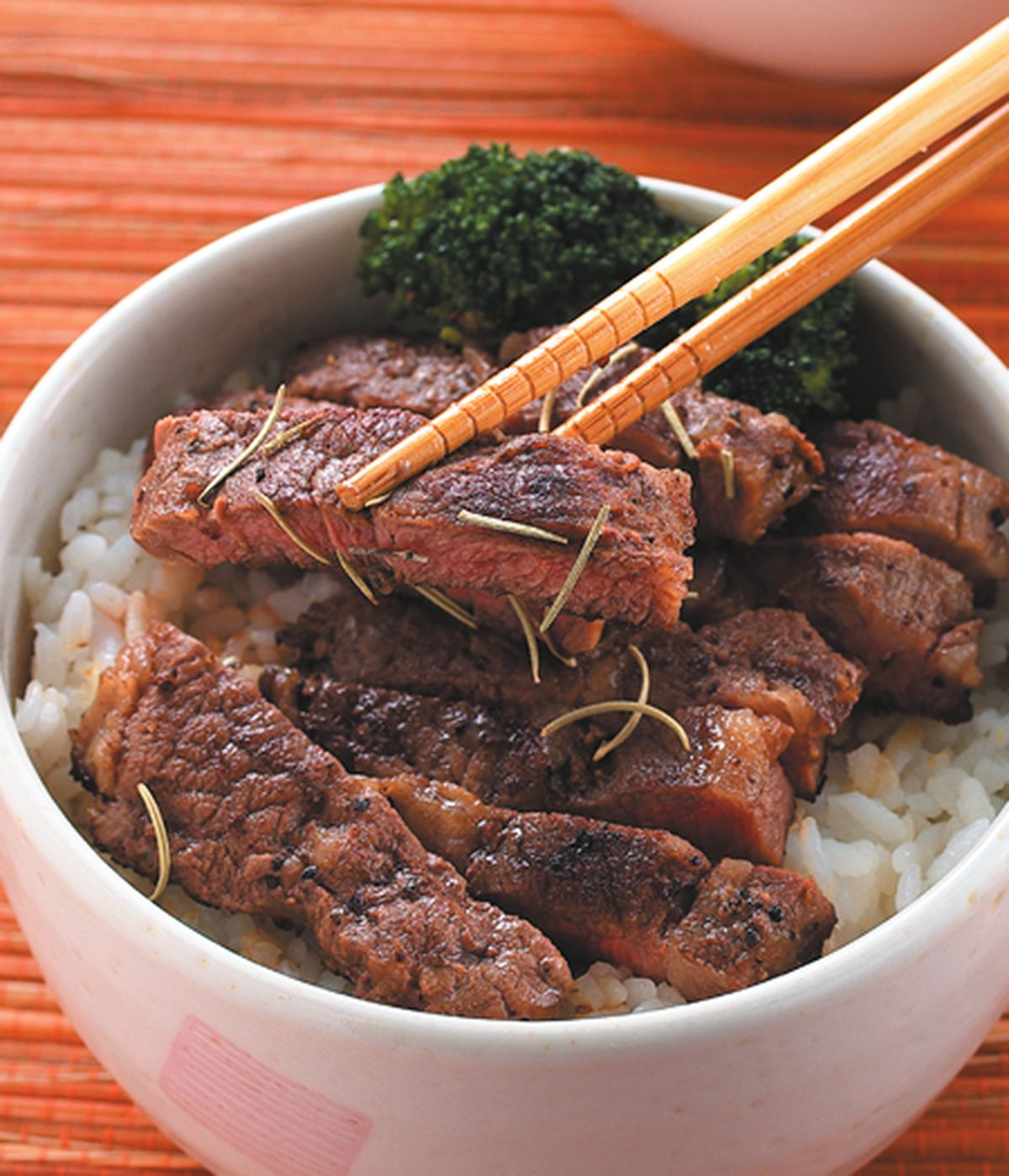 食譜:香煎牛排蓋飯