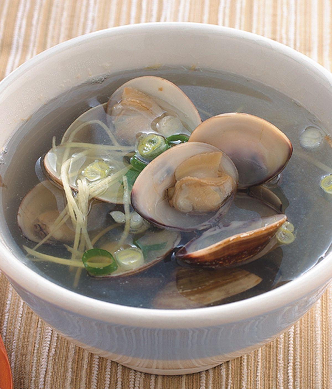 食譜:薑絲蛤蜊湯