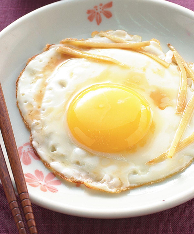 食譜:薑絲麻油蛋