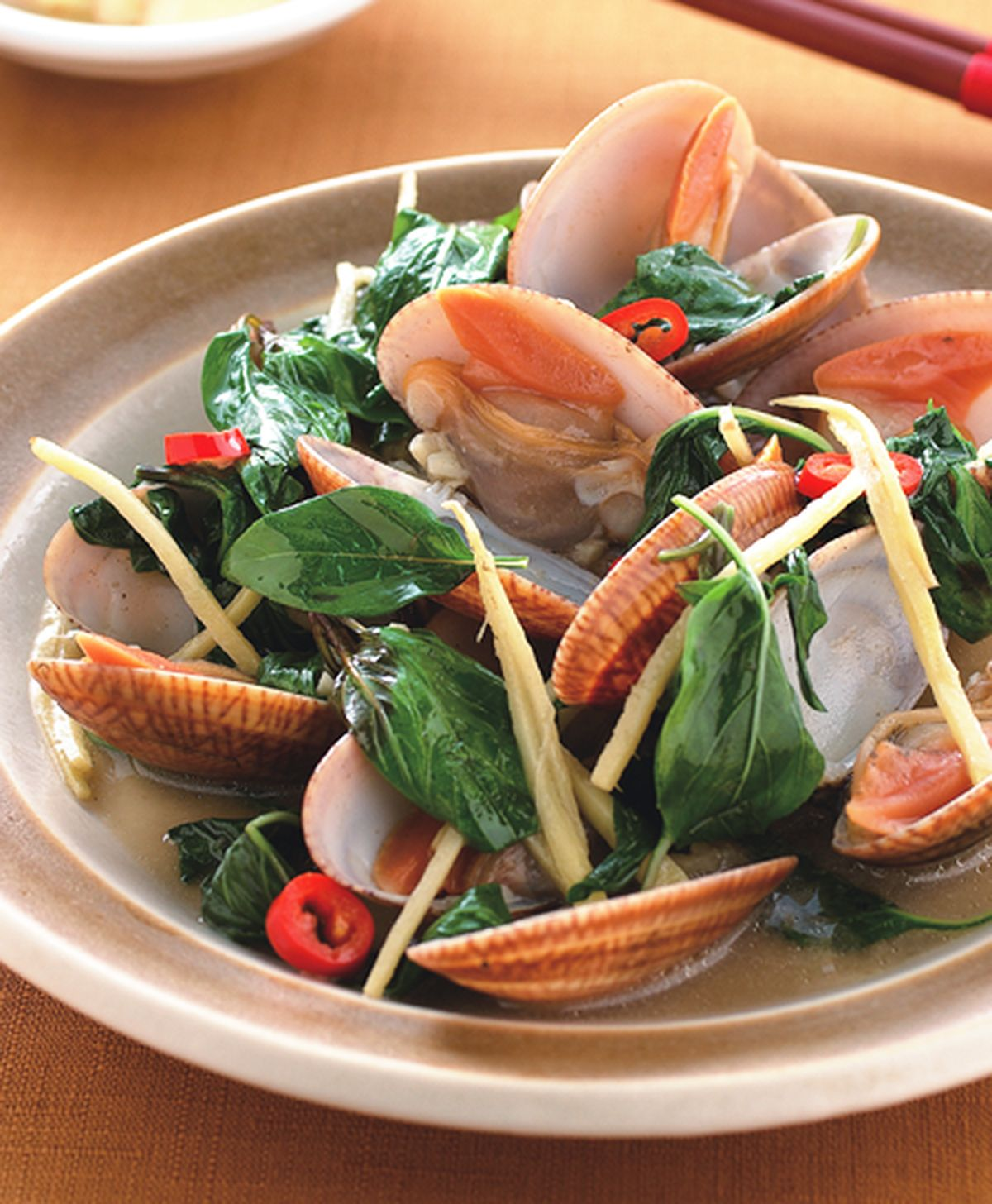 食譜:薑炒海瓜子