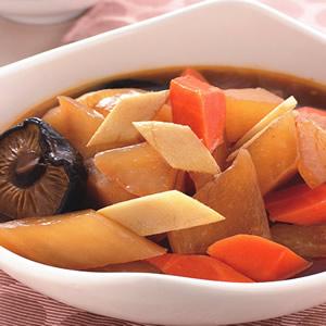 薑片燉蘿蔔